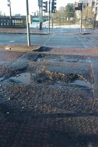 More potholes