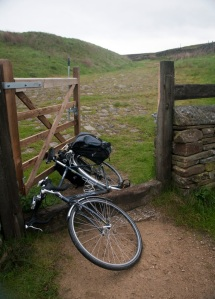 This is a bridleway, NCN 6 Sheffield-Manchester over Woodhead.
