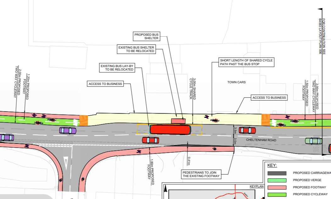Gloucester's crap cycle facility and the ambition for active travel